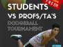 Dodgeball Tournament TA's vs. Students