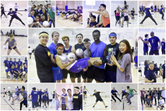 A successful Dodgeball Tournament filled with laughs, smiles, and a whole lot of fun!