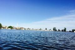 The beautiful calm water