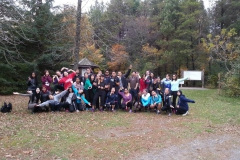 A group photo of the Treetop Trekking troopers! Thank you to all who participated in this event!