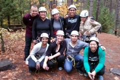 We love Treetop Trekking!