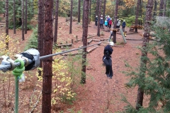 Ziplining is awweeeesome!