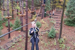 Ziplining is so much fun!