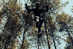 High rope work
