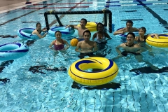 Group photo for water polo