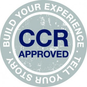 CCR Approved with tagline - small