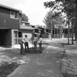 Photo #2 of Aspen Hall residence on September 1st, 1974 (Credit: University of Toronto Archives and Robert Lansdale, photographer.)