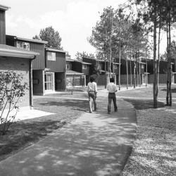 Photo #5 of Aspen Hall residence on September 1st, 1974 (Credit: University of Toronto Archives and Robert Lansdale, photographer.)