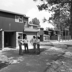 Photo of Aspen Hall residence on September 1st, 1974 (Credit: University of Toronto Archives and Robert Lansdale, photographer.)