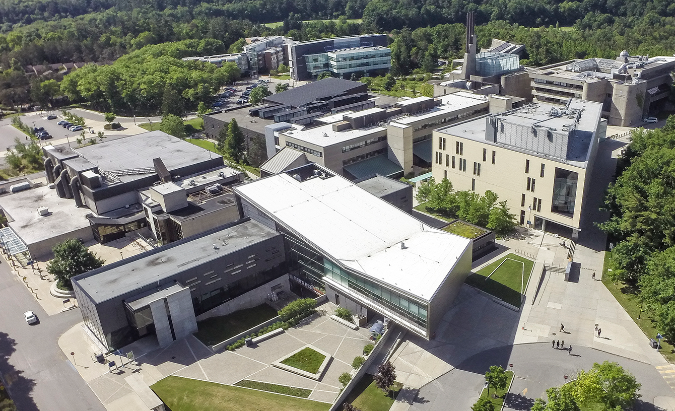 Aerial view of UTSC campus