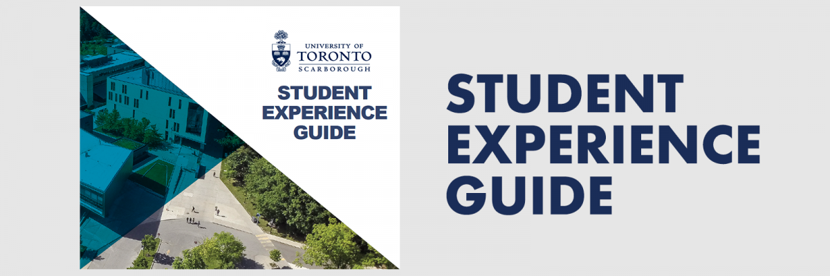 Cover of UTSC Student Experience Guide