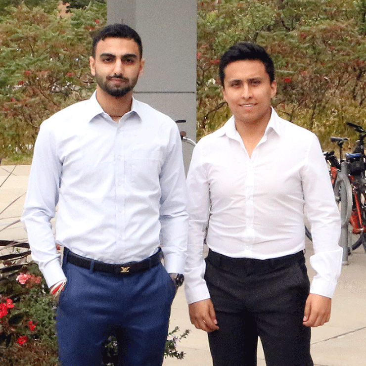 Varun and Sebastian of QwikCommerce