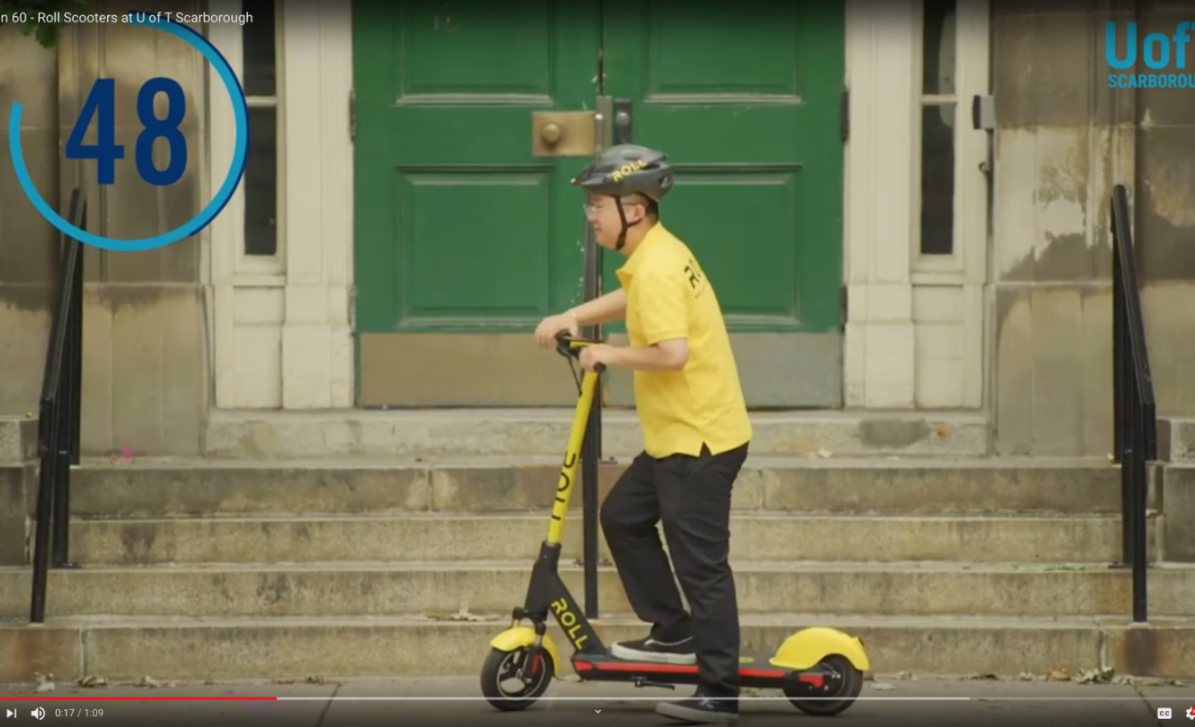 Sell It In 60 - Roll Scooters at U of T Scarborough