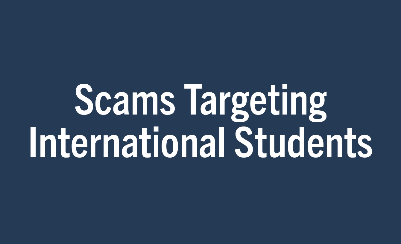 Scams Targeting International Students